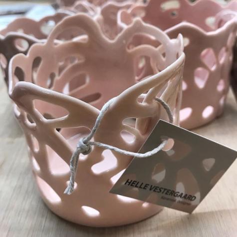 Porcelain Poetry - lyserød